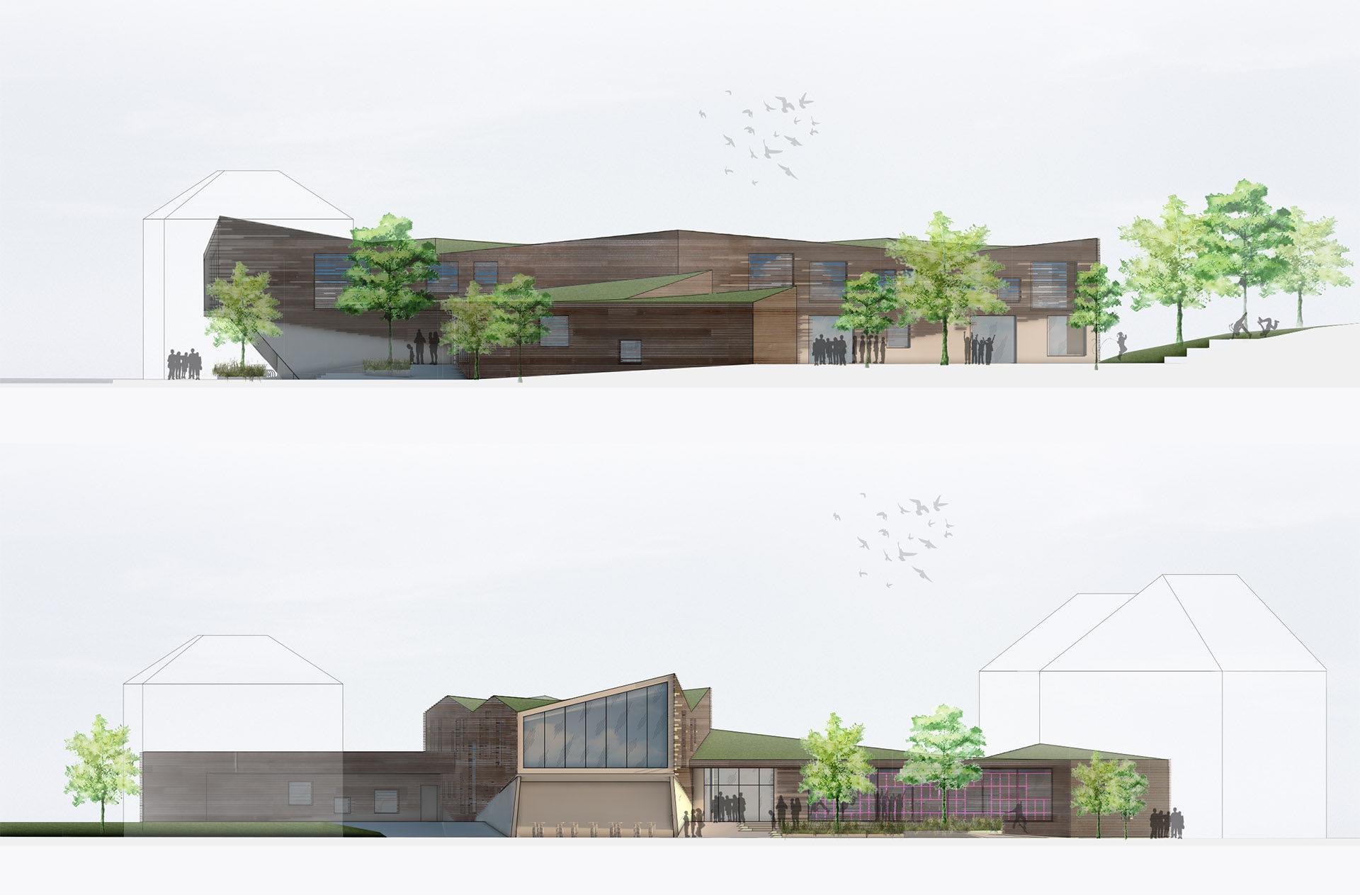 Architekt Radebeul hortgebäude radebeul architekturfabrik mingrone melchert klatte