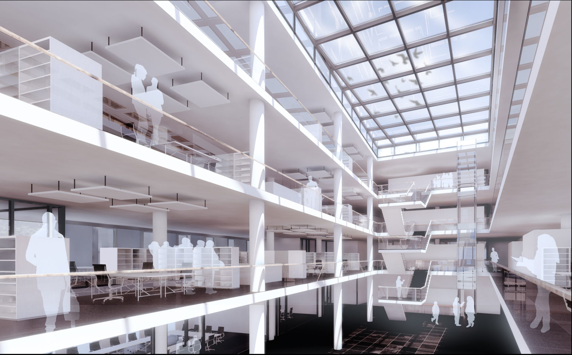 forschungs und entwicklungsgeb ude vorwerk wuppertal architekturfabrik mingrone melchert. Black Bedroom Furniture Sets. Home Design Ideas